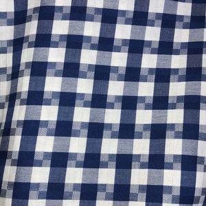 Bugatchi Shirts - Bugatchi Button Up Flip Cuff Plaid Shirt Medium